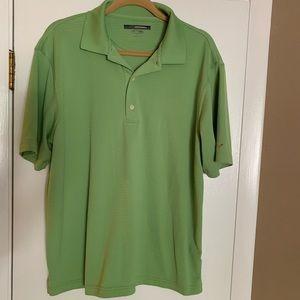 Greg Norman lime green golf shirt!